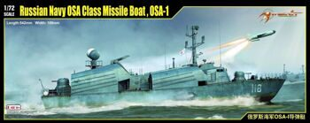 67201 1/72 Russian Navy OSA Class Missile Boat, OSA-1