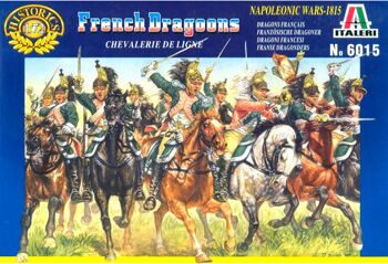 6015 Солдатики French Dragoons (Napoleonic Wars)
