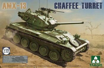 2063 1/35 French Light Tank AMX-13 Chaffe Turret in Algerian War (1954-1962)