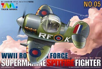 105 Cute Supermarine Spitifire Fighter