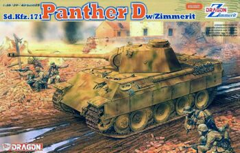 6428 Танк Sd.Kfz. 171 PANTHER D w/ZIMMERIT