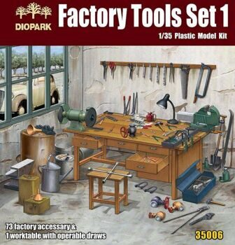 DP35006 1/35 Factory Tools Set 1