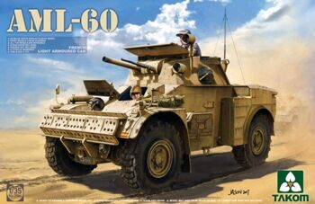 2084 French Light Armoured Car AML-60