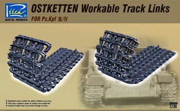 RE30008 1/35 Ostketten Workable Track Links for Pz.Kpf III/IV
