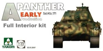 2097 Panther Ausf. A early prod. (full interior)