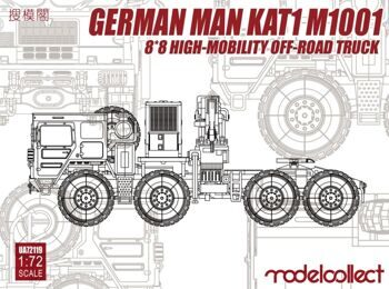 UA72119 German MAN KAT1M1001 8*8 HIGH-Mobility off-road truck