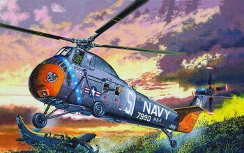02882 H-34 US NAVY RESCUE