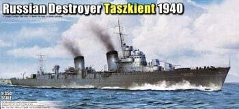 05356 Russian Destroyer Taszkient 1940