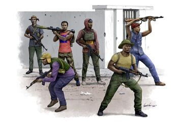 00438 African Freedom Fighters