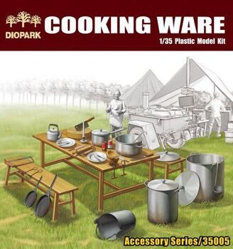 DP35005 1/35 Cooking Wear