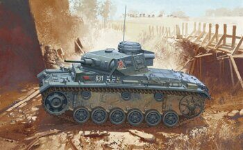 6463 1/35 Panzer III Ausf.J, Initial Production.
