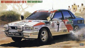 20307 Mitsubishi Galant VR-4 1992 Safari Rally  1/24