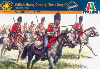 6001 Солдатики British Heavy Cavalry Scots Greys