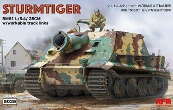 RM-5035 1/35 STURMTIGER W/ WORKABLE TRACK LINKS