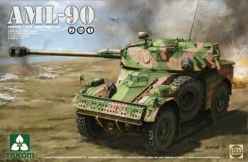2077 1/35 French Light Armoured Car AML-90