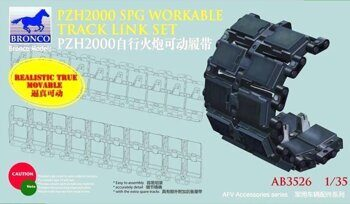 AB3526 PZH2000 spg workable track link set