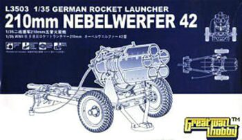 L3503 1/35 German Rocket Launcher 210mm Nebelwerfer