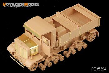 PE35394 1/35 WWII Russian Voroshilovets Tractor (For TRUMPETER 01573)