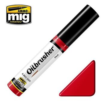 AMIG3503 Ammo Mig Oilbrusher RED