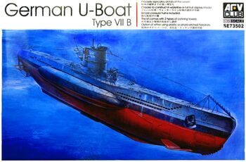 SE73502 1/350 German U-Boat Type VII/B