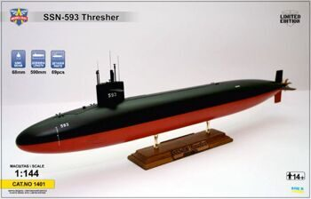 1401 USS Thresher submarine