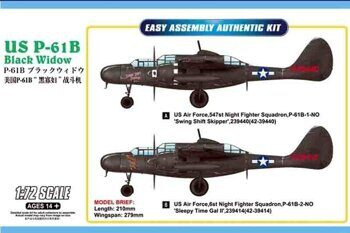 87262 US P-61B Black Widow