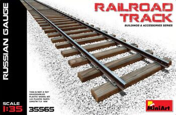 35565  Railroad Track (Russian Gauge)