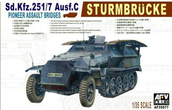 AF35077 Sd.Kfz.251/7 Ausf.C Sturmbrucke Pioneer Assault Bridges