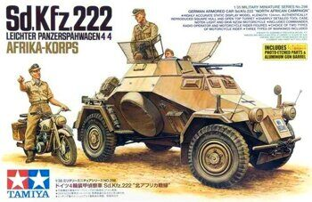 35286 1/35 Sd.Kfz.222 North Africa
