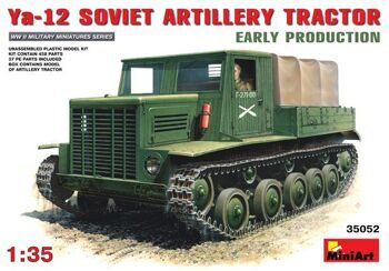 35052  Soviet artillery tractor Ya-12, early production