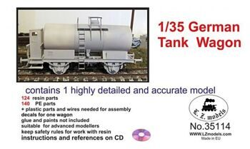 35114  German Tank Wagon