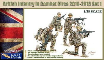 35GM0015 1/35 UK Infantry In Combat 2010~2012 Set 1