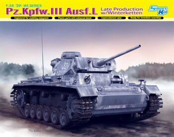 6387 1/35 Pz.Kpfw.III Ausf.L Late Production w/Winterketten.