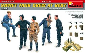 35246 Soviet Tank Crew at Rest.Special Edition