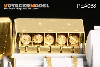 PEA068 1/35 WWII Panzer smoke candle rack (1942-1943)