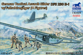 CB35039 1/35 GERMAN INVASION GLIDER DFS-230 B-1 W/PARATROOPS