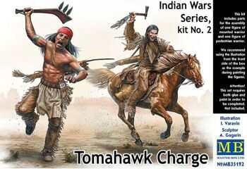 MB35192  Indian Wars Series, kit No. 2. Tomahawk Charge