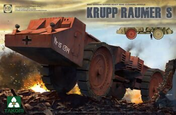 2053 1/35 WWII German Super Heavy Mine Cleaning Vehicle Krupp Raumer S