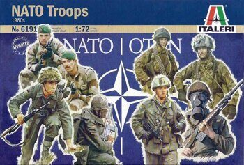 6191 NATO Troops 1980s