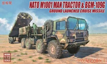 UA72096 Nato M1001 MAN Tractor & BGM-109G Ground Launched Cruise Missile