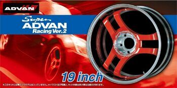 05460 1/24  SUPER ADVAN RACING Ver.2 19inch