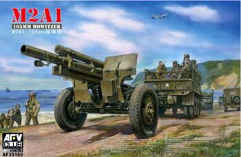 AF35160 105mm HOWITZER M2A1 Carriage M2(WW II Version)