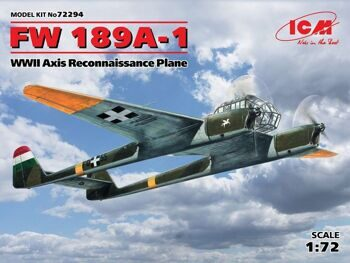 72294 FW 189A-1 WWII Axis Reconnaissance Plane