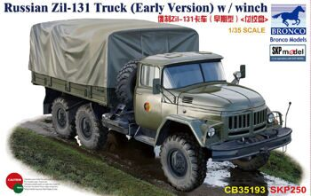 CB35193 1/35 Russian Zil-131 Truck (Early Version) w / winch