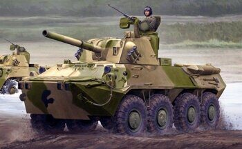 09559 2S23 Nona-SVK 120mm self-propelled mortar system