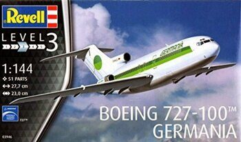 "03946 1/144 Boeing 727-100 ""Germania"""