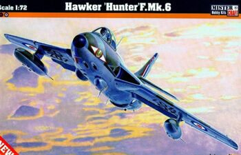 D-10 Самолет Hawker Hunter F.Mk.6  (MISTERCRAFT) 1/72