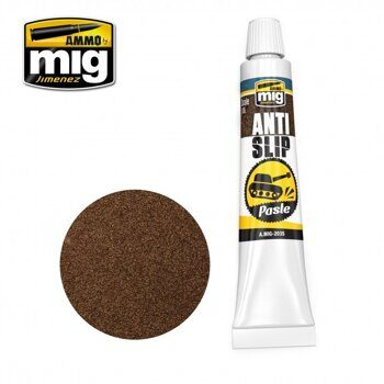 AMIG2035 ANTI-SLIP PASTE - BROWN COLOR FOR 1/35