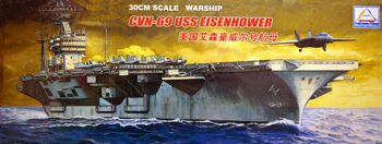 "80904 1/700 US aircraft carrier ""Eisenhower"""