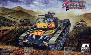 "AF35209 ""U.S. M24 Tank """"Chaffee"""" (Korean War) (Korean War)"""